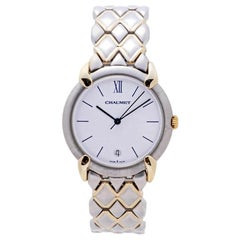 Chaumet OR-ACIER 205476, White Dial, Certified and Warranty