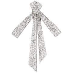 Chaumet Paris Diamond Bow Brooch