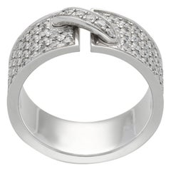 Chaumet Paris 'Lien' Diamonds Pavé Gold Ring