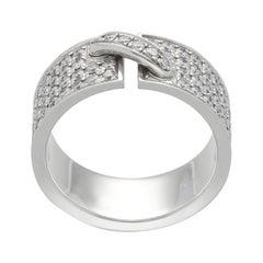 Chaumet Paris 'Lien' Diamonds Pavé Gold Ring
