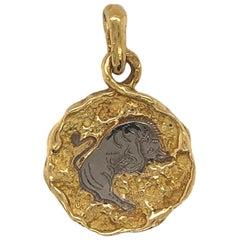 Chaumet Taurus Zodiac Pendant, Paris, circa 1990
