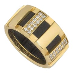 Chaumet Yellow Gold Diamond Class One Ring