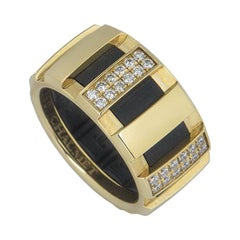 Chaumet Yellow Gold Diamond Class One Ring