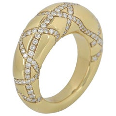 Chaumet Yellow Gold Diamond Dress Ring