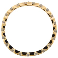 Chaumet Yellow Gold Diamond Necklace