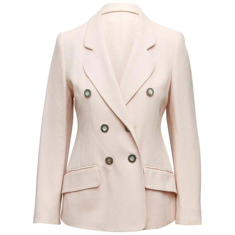 Cheap And Chico By Moschino Light Pink Blazer For Sale At 1stdibs