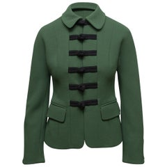 Cheap & Chic by Moschino Forest Green & Black Jacket