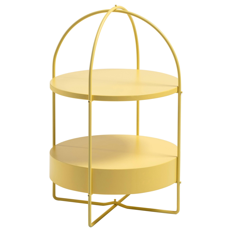 Corner cupboard, shelf, open shelf unit, coffe table height 68xØ46cm