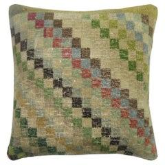 Checkerbaord Turkish Deco Pillow