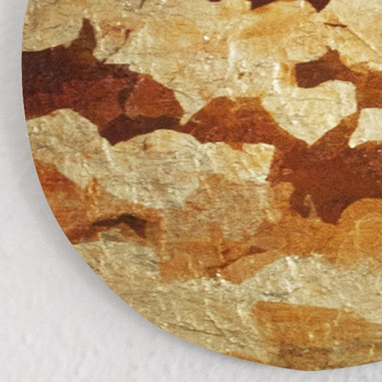 Punto de Luz 15 - 21st Century, Contemporary, Abstract Painting, Gold Leaf For Sale 1