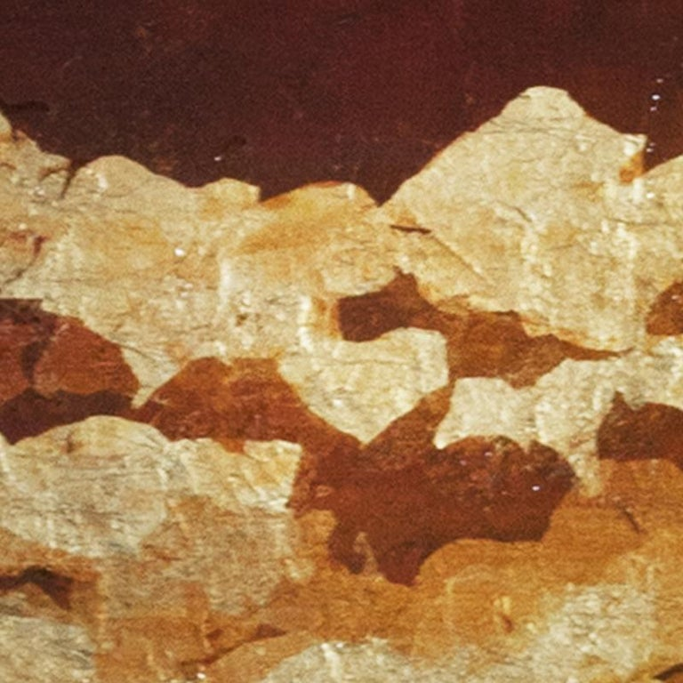 Punto de Luz 15 - 21st Century, Contemporary, Abstract Painting, Gold Leaf For Sale 5
