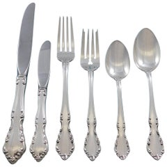 Chelsea Manor by Gorham Sterling Silver Flatware Service for 8 Set 56 Pieces