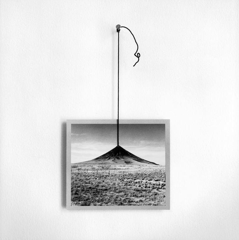 Untitled (Picture of Mountain on String)