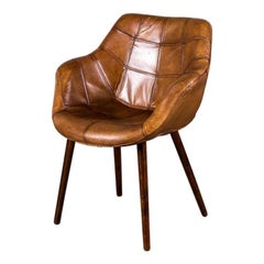 Chepstow Vintage Style Leather Chair Range, 20th Century