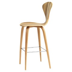 Cherner Bar Stool with Wood Base