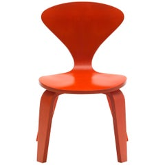 Cherner Child Chair by Benjamin Cherner in Orange, Contemporary, USA, 2007