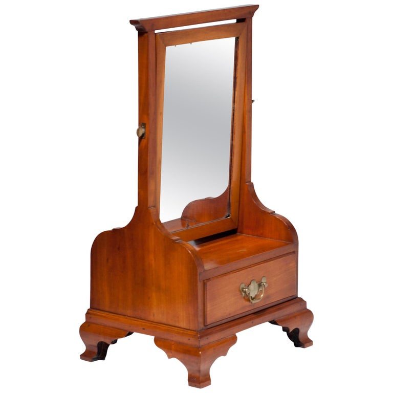 Cherry Chippendale Shaving Stand For Sale At 1stdibs