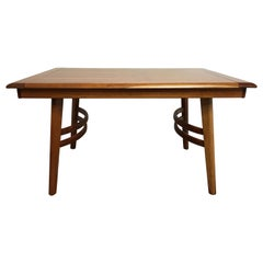 Cherrywood Dining Table in the Manner of Paul Laszlo