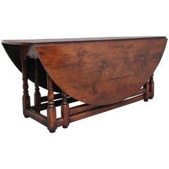 Cherry Wood Double Gateleg Table
