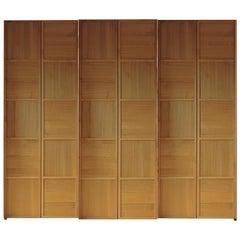 Cherrywood Scacchi Wardrobe, 3 Sliding Doors