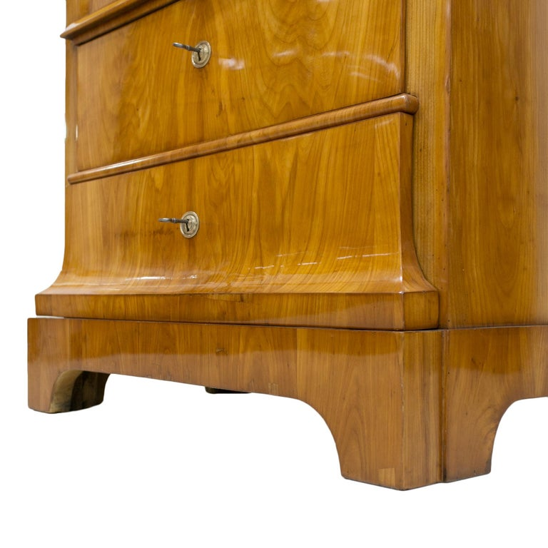 Cherrywood Secrétaire, Germany, 19th Century For Sale 4