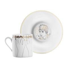 Chers Parisiens Limoges Porcelain Coffee Cups