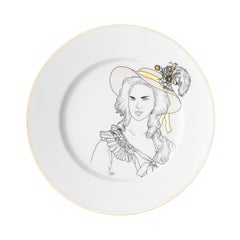 Dessert Porcelain Plate Collection Chers Parisiens Marie Antoinette