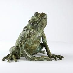 Magic Frog (bronze sculpture)