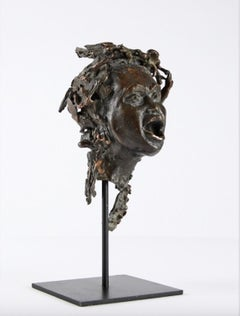 The Storm - Allegory sculpture, contemporary, bronze