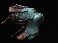 The Wind II - (allegorical figure, one-off bronze sculpture)