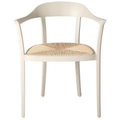 Chesapeake Dining Armchair, Warm Grey, Neutral, Outdoor Garden Furniture