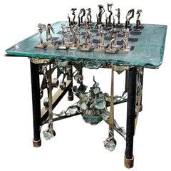 "Chess Game ""Kiriliuk Versus Kasparov"" by Michel Kiriliuk"