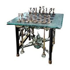 """Chess Game """"Kiriliuk Vs Kasparov"""" by Michel Kiriliuk"""