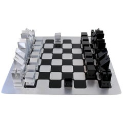 Chess Set by Walter and Moretti, No. 1 of Pre-Production, France, 1970