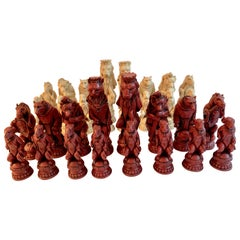 Reynard Chess Set of Woodland Animals