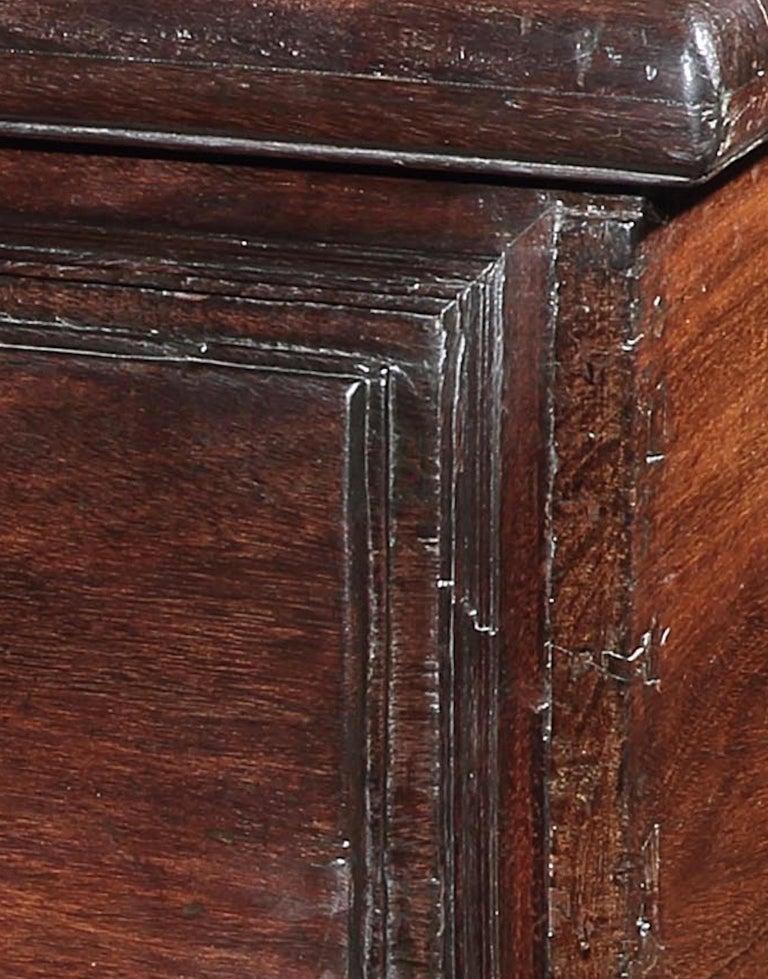 Chest, Cassone, 17th Century, Portuguese, Baroque, Brazil, Hardwood For Sale 1