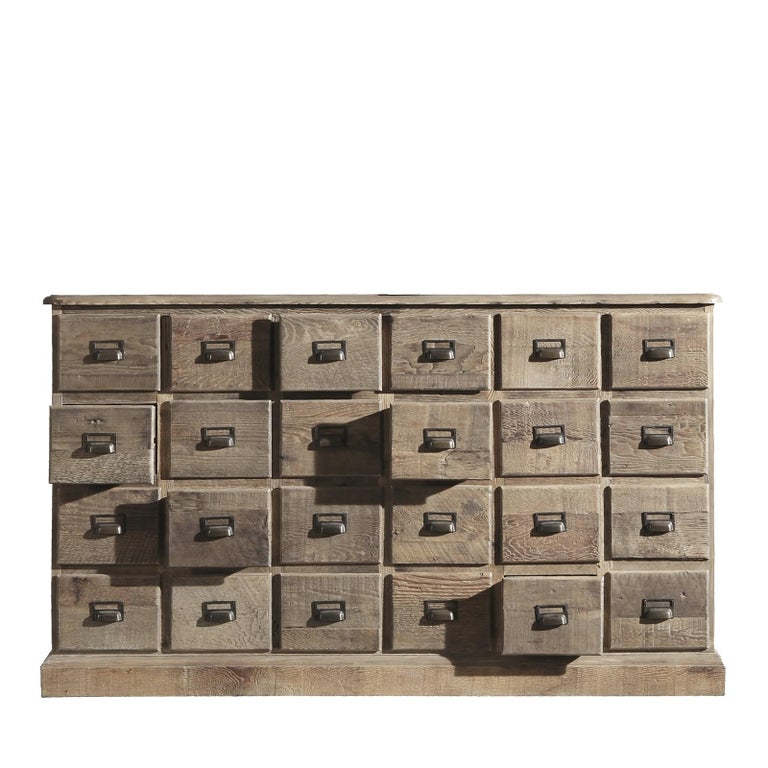 Italian Chest of 24 Drawers For Sale