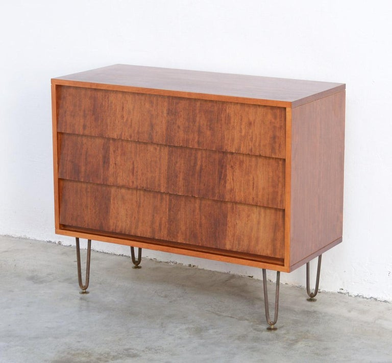 This beautiful chest of drawers was designed by Alfred Hendrickx for Belform in the late 1950s.