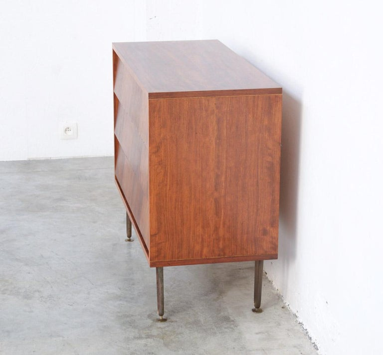 Mid-Century Modern Chest of Drawers by Alfred Hendrickx for Belform For Sale
