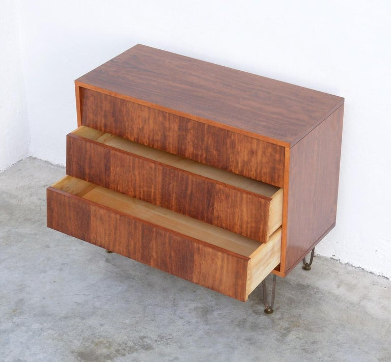 Veneer Chest of Drawers by Alfred Hendrickx for Belform For Sale