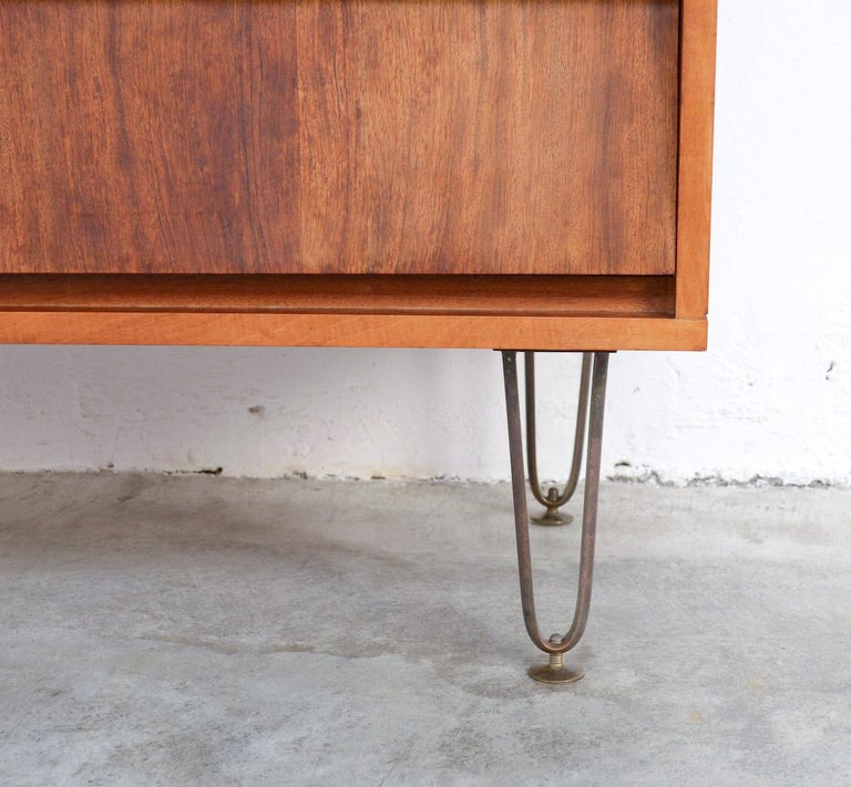 Bubinga Chest of Drawers by Alfred Hendrickx for Belform For Sale