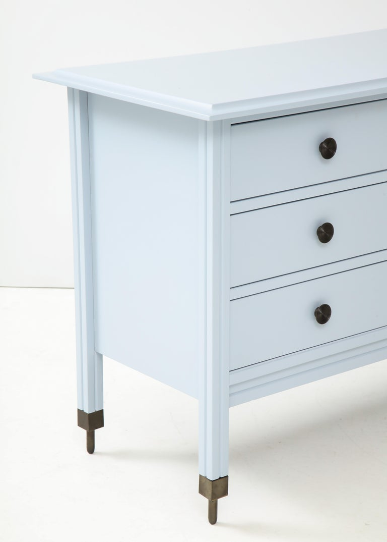 Blue Chest of Drawers by Carlo de Carli, Sormani Edition, Italy, circa 1963 For Sale 2