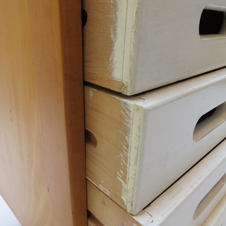 Chest of Drawers by James Leonard for Esavian ESA White 1 For Sale 2