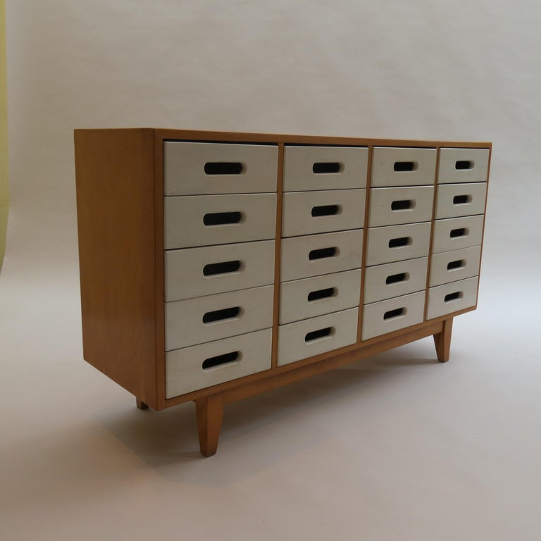 Chest of Drawers by James Leonard for Esavian ESA White 1 For Sale 3