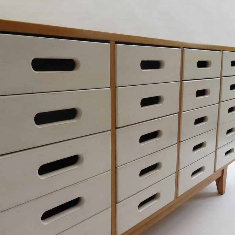 Chest of Drawers by James Leonard for Esavian ESA White 1 For Sale 4