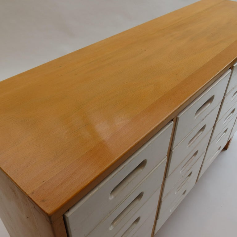 English Chest of Drawers by James Leonard for Esavian ESA White 1 For Sale