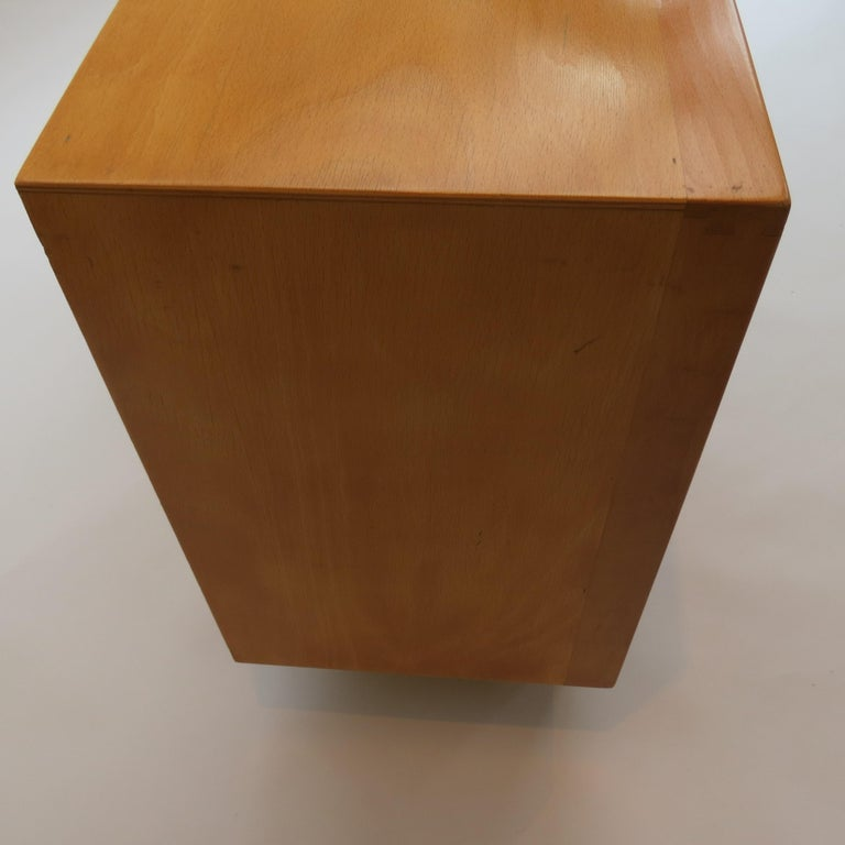 Machine-Made Chest of Drawers by James Leonard for Esavian ESA White 1 For Sale