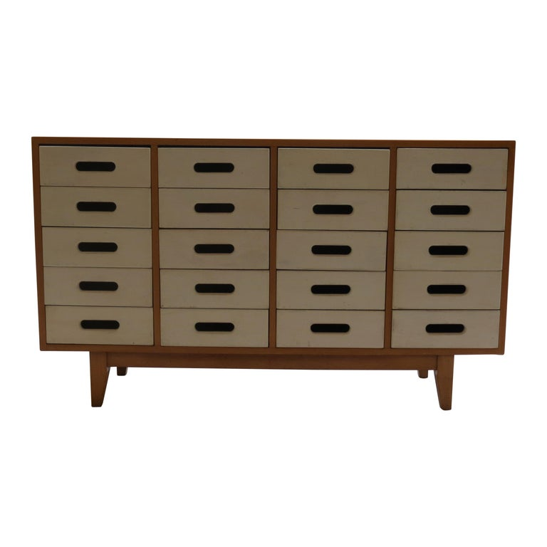 Chest of Drawers by James Leonard for Esavian ESA White 1 For Sale