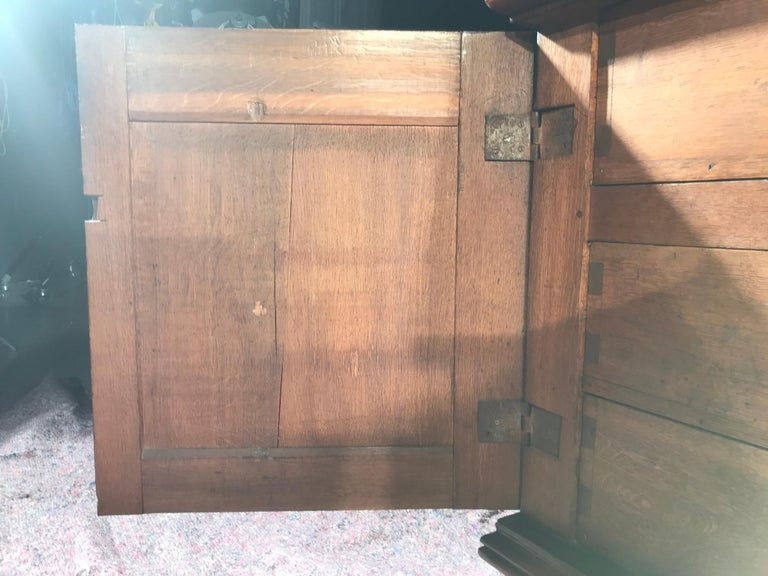 Chest of Drawers Chest Commode Architectural Facade Enclosed Renaissance Cedar For Sale 6