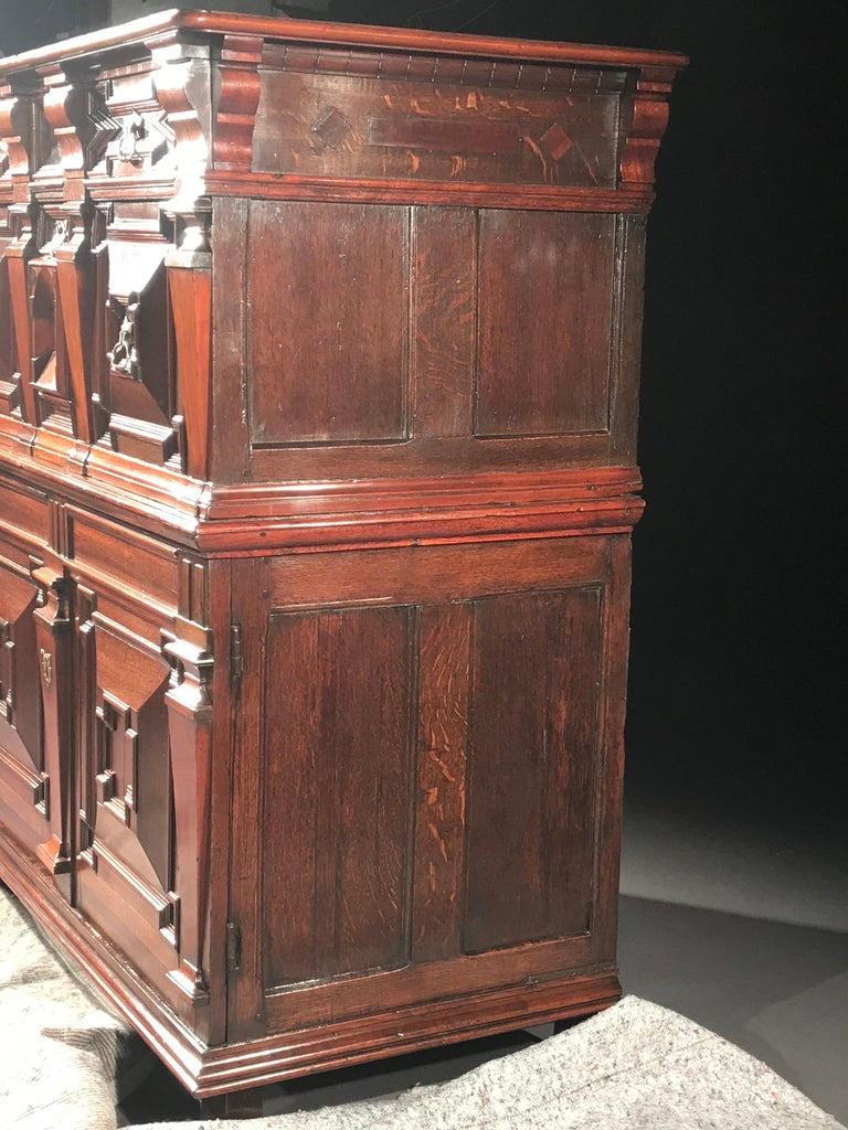 Chest of Drawers Chest Commode Architectural Facade Enclosed Renaissance Cedar For Sale 8